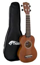 Tiger Music UKE12-NT Natural Soprano Ukulele With Bag