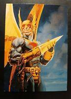 HAWKMAN--1994 DC COMICS--SKYBOX MASTER SERIES--FOIL CARD F4--               (MM)