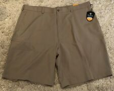 New Pro Tour Men's Coolplay Gray High rise Ultimate Cargo Short 42 Msrp: $55