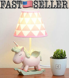 Moon Moon Cute Unicorn Table Lamp, Bedside Unicorn Lamp - NEW IN BOX! FAST!