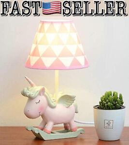 Moon Moon Cute Unicorn Table Lamp, Bedside Unicorn Lamp - NEW IN BOX! FAST!