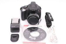 Canon Powershot SX40 HS 12.1mp Cámara Digital - Negro