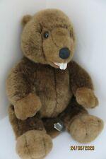 build a bear workshop BEAVER / otter VERY RARE plush animal