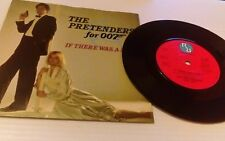 "The Pretenders If There Was A Man 7"" Vinyl Single 198& UK Real Records - YZ 149"