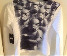 NWT STAR WARS STORMTROOPER GIRL'S JACKET  16 XL