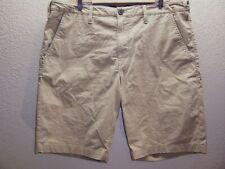 "TIMBERLAND Mens 38"" Waist 3%Spandex khaki shorts Combine ship Discount"
