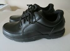 Rockport K71218 World Tour Classic Black Pebbled Leather Sneakers Mens SZ US 10W