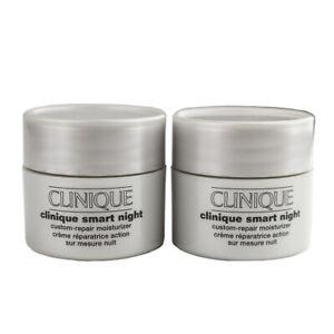 Clinique Smart Night Custom-Repair Moisturizer Cream Dry Comb. Skin - 1oz SEALED