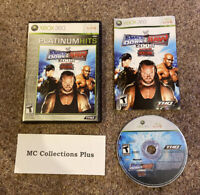 Xbox 360 - WWE SmackDown vs. Raw 2008 - Complete w/ Manual - Platinum - Tested
