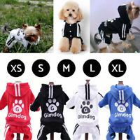 Pet Coat Dog Jacket Spring Clothes Puppy Cat Sweater Coat Jacket Hoodie Jumpsuit