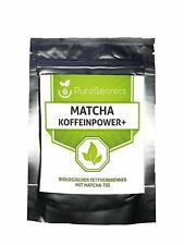 Bio Matcha Tee Grüntee Pulver + Koffeinpower PureSecrets Banane 50g