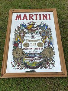 Vintage pub mirror - advertising Large Martini Mirror