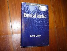 Elements of Semiotics (Semaphores and Signs) David Lidov