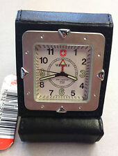"Wenger (ref.73020)-reloj suizo viaje modelo ""Standard Issue Travel Alarm"""