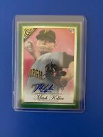 2019 Topps Gallery #35 Mitch Keller RC Pittsburgh Pirates Rookie Auto!! #80/99!!