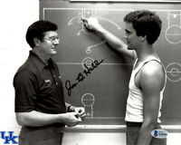 JOE B. HALL SIGNED AUTOGRAPHED 8x10 PHOTO KENTUCKY BASKETBALL RARE BECKETT BAS