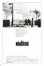 MANHATTAN Movie Poster Woody Allen Diane Keaton Muriel Hemmingway Drama 24X36