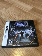 Star Wars Force Unleashed Nintendo DS Cib Game Works Great VC2