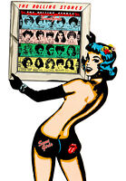 Rolling Stones Some Girls A2 High Quality Canvas Art Print