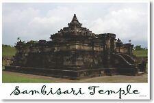 Temple of Sambisari Temple in Kalasan Yogyakarta - NEW World Travel POSTER