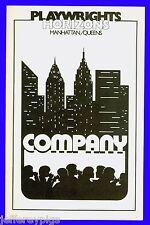 Playbill + Company + Peter Evans , Christine Baranski , Mary Testa , Tony Blake
