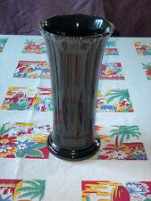 "New ListingHlc Fiesta Black Small 8"" Vase ~ Unused with Original Sticker"
