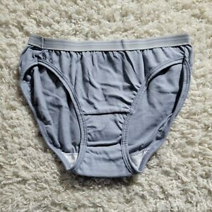Fruit Of The Loom Bikini Heather Breathable Eversoft 100% Cotton Size 5 Gray 5