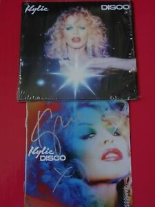 KYLIE - DISCO CD ALBUM WITH SIGNED BOOKLET NEW & UNPLAYED LIMITED EDITION