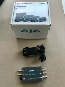 AJA MINI CONVERTER HD5DA with Power Supply.