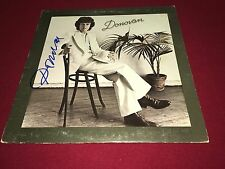 DONOVAN LEITCH SIGNED VINYL LP ALBUM PROOF