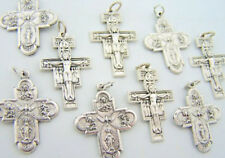 San Damiano and 4-Way Cross 1 1/2-inch Medals, Lot 10