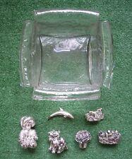 Stock oggetti in argento/Silver/Silber - Bomboniere - Contenitore vaso in vetro