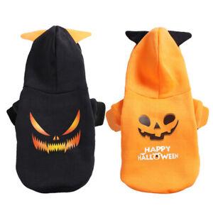 Halloween Cute Pet Dog Hoodie Jacket Devil Cosplay Puppy Cat Coat Pet Costumes