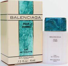 Balenciaga Pour Homme by Balenciaga 0.13 oz EDT Mini Splash for Men - New in Box