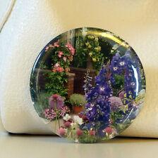 Fiore POCKET Specchio Con Organza Sacchetto-viola-Multi Make Up Borsetta