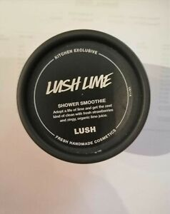 Lush-Lush Lime Shower Smoothie Kitchen Exclusive 100g Brand New