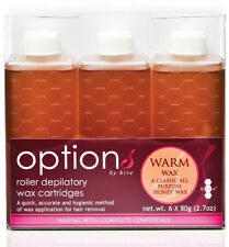 Alveare 6x Depilatory Warm HONEY CARTUCCIA CERA RULLO CREME DEPILAZIONE hob6600