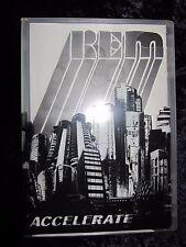 R.E.M. / REM - ACCELERATE / 1 CD & 1 DVD Set + Booklet - Like New