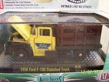 New 1956 Ford F100 Truck Fomoco M2 Auto Trucks Premium Edition Die Cast 1:64