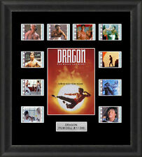 Dragon the Bruce Lee Story Framed 35mm Film Cell Memorabilia Filmcells Movie Cel