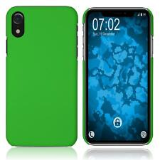 Hardcase Apple iPhone Xr rubberized green Cover Case