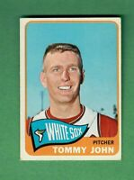 1965 TOPPS #208 TOMMY JOHN CHICAGO WHITE SOX EX+