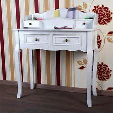 Landhaus Sekretär Antik Weiß Schreibtisch Schminktisch Shabby Landhausstil  Holz