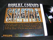 ROBERT FARNON Mood/ Bachelor Pad Oddity LP PLAY THE HITS OF SINATRA Philips Issu