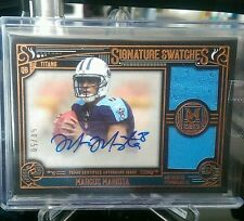 2015 Museum Collection Marcus Mariota RC Auto/Double Game Jersey 50/50 eBay 1/1