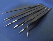 5PCS Vetus Tweezers Plier for eyelash Jewelry IC SMD SMT Stainless Steel forceps