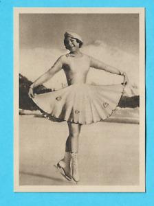 1935 Muratti Band II German Sonja Henie Norway Figure Skating #79 ⛸