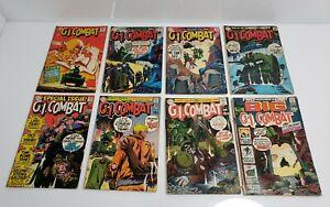 Vintage DC Comics G.I. Combat Lot Of 8 No. 130, 135, 137,139, 140, 141, 142, 146