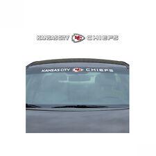 Team ProMark NFL Kansas City Chiefs Car Truck Suv Windshield Decal Sticker