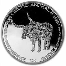 TCHAD 500 Francs Argent 1 Once Boeuf 2020 - Celtic Animals